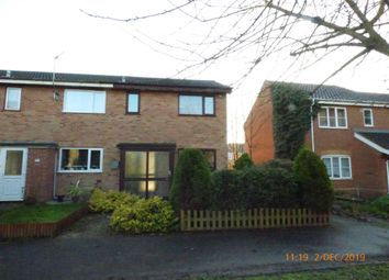 Thumbnail 3 bedroom end terrace house to rent in Delius Close, Lowestoft