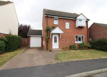 Thumbnail 3 bed detached house for sale in Hogarth Close, St. Ives, Huntingdon