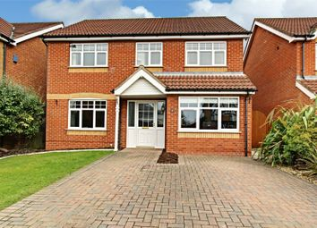 Thumbnail 4 bedroom detached house for sale in George Butler Close, Laceby, Grimsby, Lincolnshire