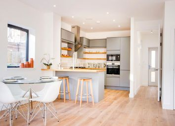 Thumbnail 2 bed semi-detached house for sale in Brownlow Road, London