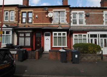 Thumbnail 3 bed terraced house to rent in Beeton Road, Winson Green, Birmingham