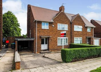 Thumbnail 3 bed semi-detached house for sale in Broomhill Road, Hucknall, Nottingham