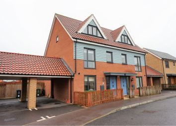 Thumbnail 3 bed semi-detached house for sale in Welkin Way, Cambridge
