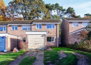 Thumbnail 3 bed end terrace house for sale in Lennel Gardens, Fleet
