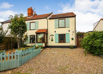 Thumbnail 3 bed cottage for sale in The Street, Hickling, Norwich