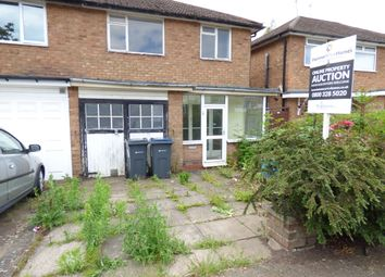 Thumbnail 3 bed semi-detached house for sale in Bunbury Road, Northfield