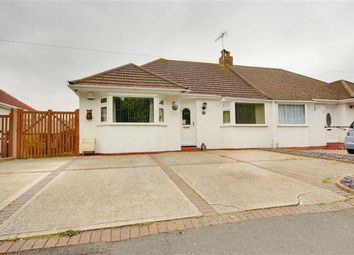 Thumbnail 2 bed semi-detached bungalow for sale in Upper Boundstone Lane, Lancing