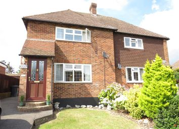 Thumbnail 3 bed semi-detached house for sale in Harebeating Drive, Hailsham