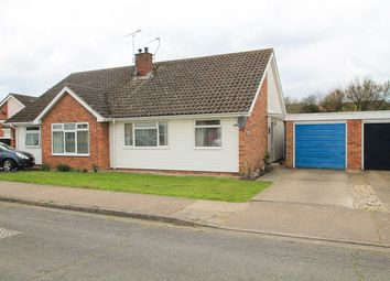 Thumbnail Semi-detached bungalow for sale in Kersey Close, Stowmarket
