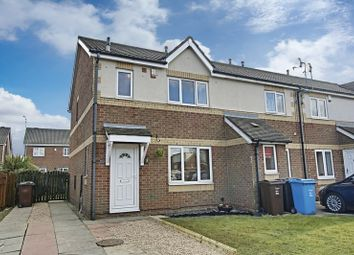 Thumbnail 3 bed end terrace house for sale in St. Abbs Close, Hull