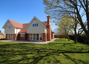 Thumbnail 5 bed detached house for sale in Great Tey Road, Little Tey, West Of Colchester