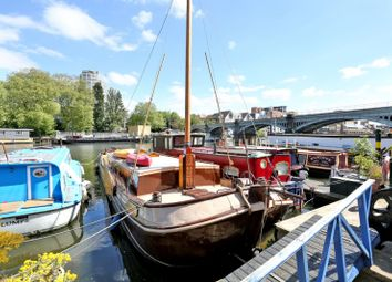 Thumbnail 2 bed houseboat for sale in Burgoine Quay, Lower Teddington Road, Kingston Upon Thames