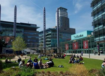 Thumbnail 1 bedroom flat to rent in The Heart, Salford Quays