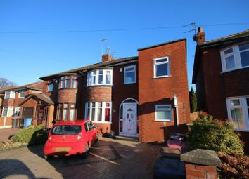 Thumbnail 3 bed semi-detached house for sale in Southlands Avenue, Eccles, Manchester