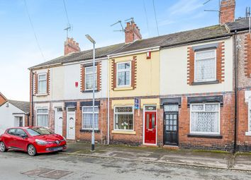 Thumbnail 2 bed terraced house for sale in Clarence Street, Wolstanton, Newcastle