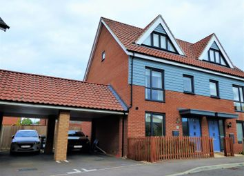Thumbnail 3 bed semi-detached house for sale in Welkin Way, Upper Cambourne, Cambridge