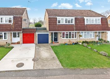Thumbnail 3 bed semi-detached house for sale in Landen Park, Horley, Surrey