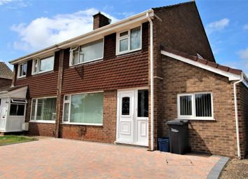 Thumbnail 3 bed semi-detached house for sale in Lulworth Close, Paignton