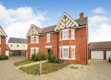 Thumbnail 4 bed detached house for sale in Broad Mead Avenue, Great Denham, Bedford