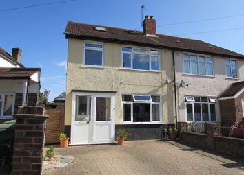 Thumbnail 4 bed semi-detached house for sale in Connaught Road, Sutton