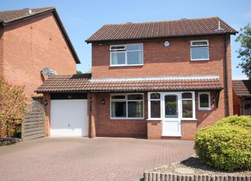 Thumbnail 3 bed detached house for sale in Framefield Drive, Solihull