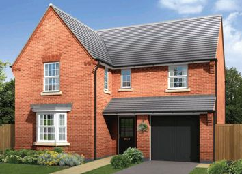 "Thumbnail 4 bedroom detached house for sale in ""Exeter"" at Harbury Lane, Heathcote, Warwick"