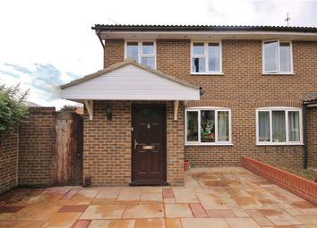 Thumbnail 3 bed semi-detached house to rent in Eton Court, Staines, Middlesex