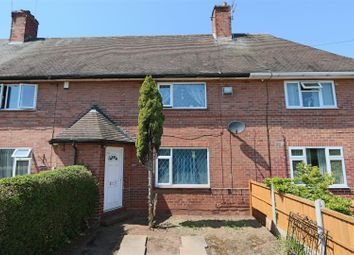 Thumbnail 2 bed terraced house for sale in Highwood Avenue, Bilborough, Nottingham NG83Af