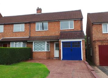 Thumbnail 3 bed semi-detached house for sale in Planetree Road, Streetly, Sutton Coldfield