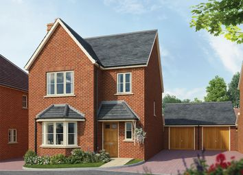 Thumbnail 3 bedroom detached house for sale in Fleet Road, Hartley Wintney, Hook