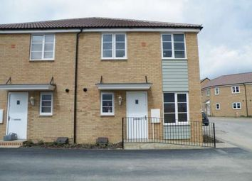 Thumbnail 1 bed terraced house to rent in Flora Close, Stanground, Peterborough