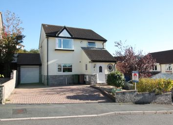Thumbnail 4 bed detached house for sale in Newnham Close, Plympton, Plymouth