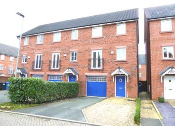Thumbnail 3 bed terraced house for sale in School Drive, Lymm, Cheshire