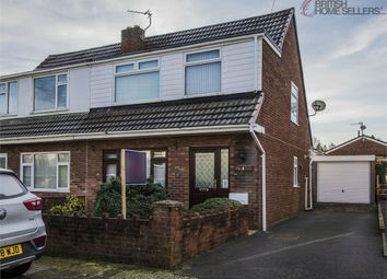 Thumbnail 3 bed semi-detached house for sale in Brynmead, Bryn, Llanelli, Carmarthenshire
