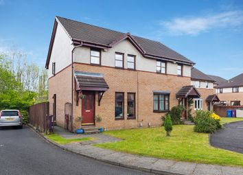 Thumbnail 3 bed semi-detached house for sale in 8 Temple Locks Court, Glasgow