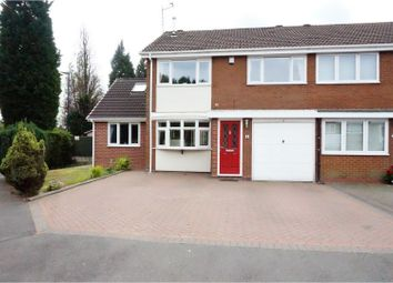 Thumbnail 4 bed semi-detached house for sale in Chichester Drive, Birmingham