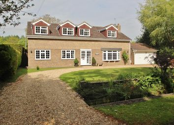 Thumbnail 4 bed detached house for sale in Wolverton Common, Tadley