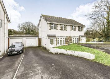 Thumbnail 3 bed semi-detached house for sale in Ty Gwyn Drive, Brackla, Bridgend
