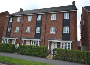 Thumbnail 4 bed town house for sale in Pinehurst Walk Boston Bo, Chapelford Village, Warrington