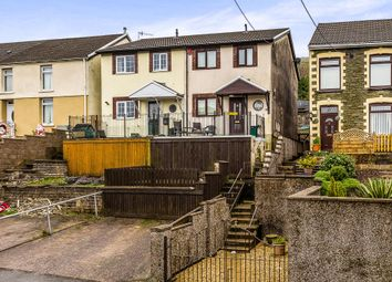 Thumbnail 3 bedroom semi-detached house for sale in High Street, Gilfach Goch, Porth