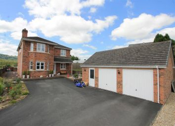 Thumbnail 4 bed detached house for sale in Cilmery, Builth Wells