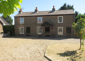 Thumbnail 3 bed detached house for sale in High Road, Gorefield, Wisbech