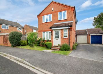 Thumbnail 3 bed detached house for sale in Horner Close, Huby, York