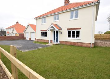 Thumbnail 4 bed detached house to rent in Back Lane, Badwell Ash, Bury St. Edmunds