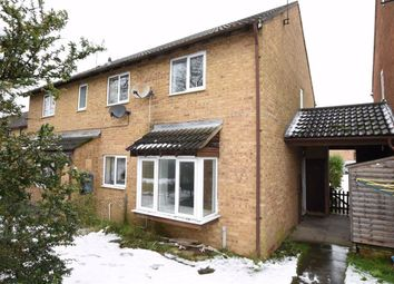 Thumbnail 2 bed terraced house for sale in Senwick Drive, Wellingborough