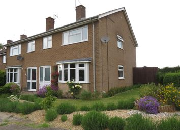 Thumbnail 3 bed end terrace house for sale in Pinfold Close, North Luffenham, Oakham