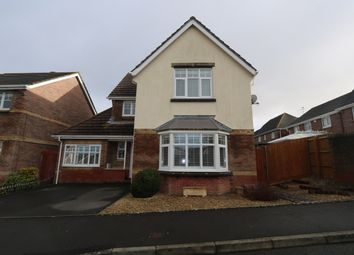 Thumbnail 4 bed detached house for sale in Fforest Drive, Barry