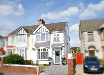 Thumbnail 3 bed semi-detached house for sale in Stradey Park Avenue, Llanelli, Carmarthenshire