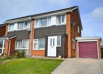 Thumbnail 3 bed semi-detached house for sale in 31, Beechwood Drive, Newtown, Powys