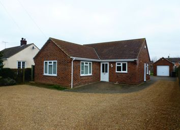 Thumbnail 3 bedroom bungalow to rent in Mill Lane, Hockwold, Thetford